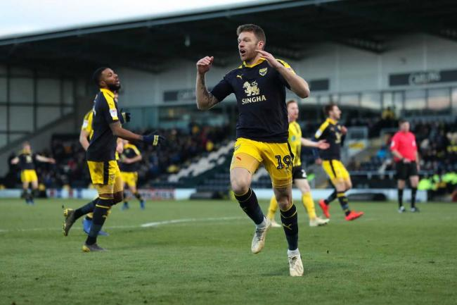 Jamie Mackie reacts to a shot being saved early in the second half at Burton Albion  Picture:  James Williamson
