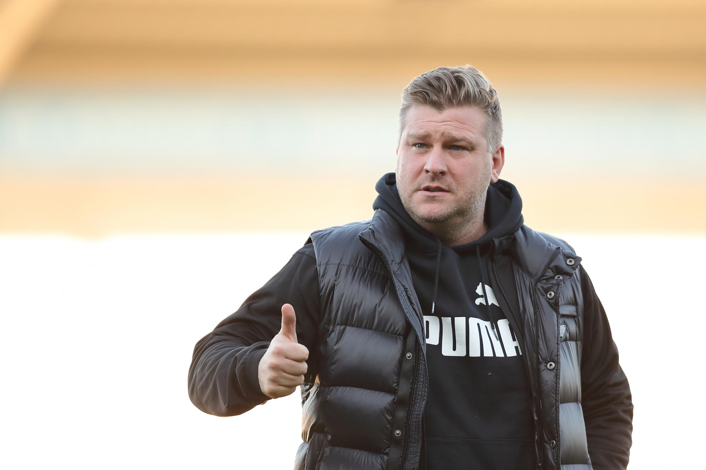 Head coach Karl Robinson has sensed a welcome edge among his Oxford United players in training this week 	 Picture: James Williamson