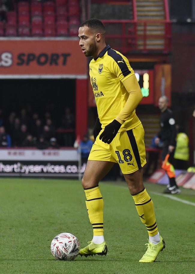Jordan Graham is backing Oxford United to raise their game tomorrow   Picture: David Fleming