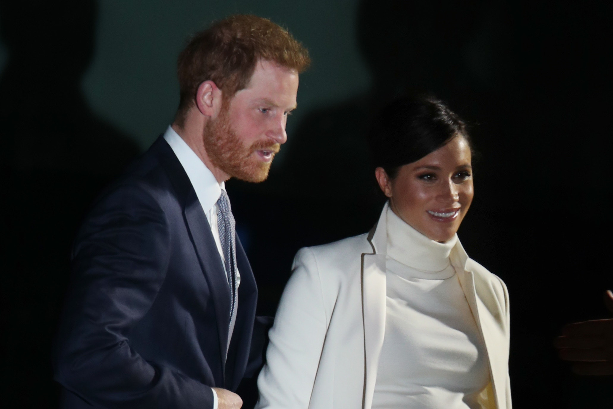 The Duke and Duchess of Sussex arrive at the Natural History Museum