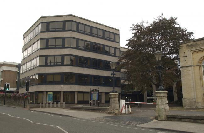 The county council's headquarters in New Road, Oxford