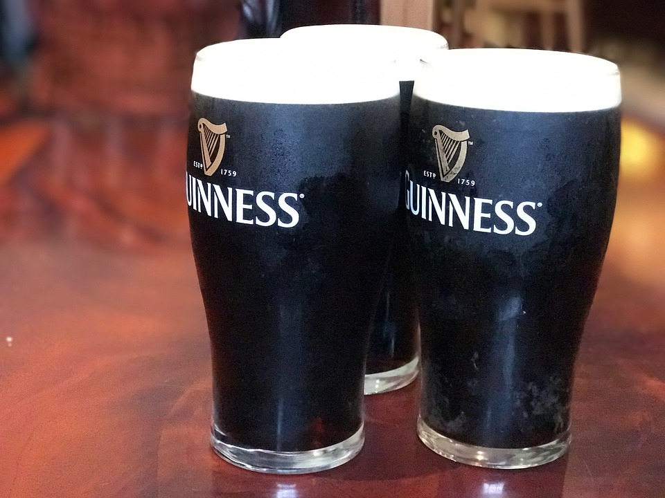 Stock image of Guinness