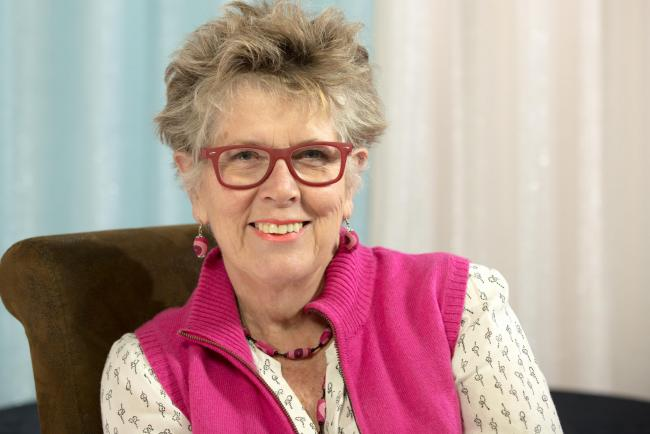Prue Leith Picture supplied by Quercus