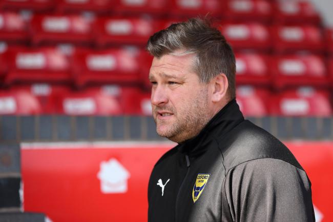Oxford United head coach Karl Robinson is in France watching transfer targets this week   Picture: James Williamson