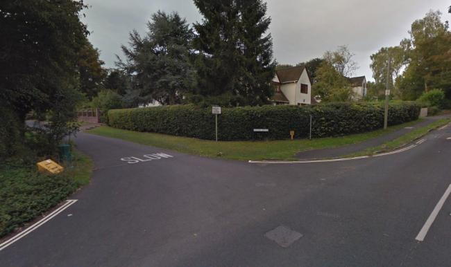 The land lies further down Vernon Avenue. This is the view from Harcourt Hill (picture: Google Maps)