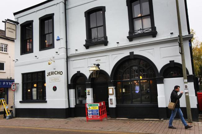 The Jericho Tavern on Walton Street Picture: Ed Nix