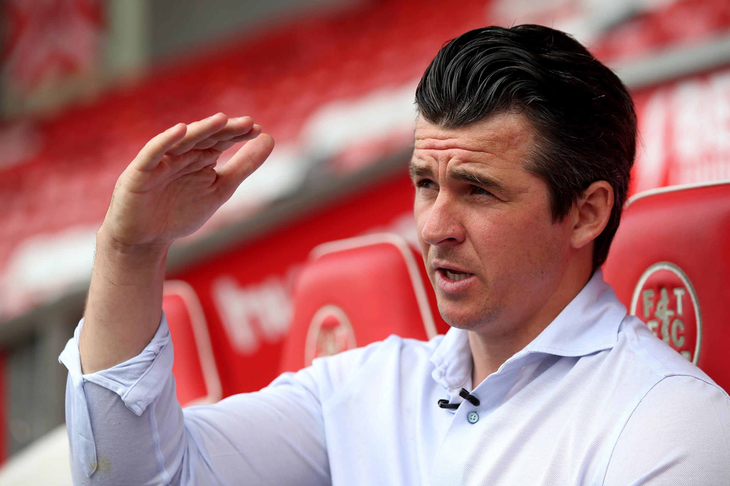 Joey Barton is the Fleetwood manager
