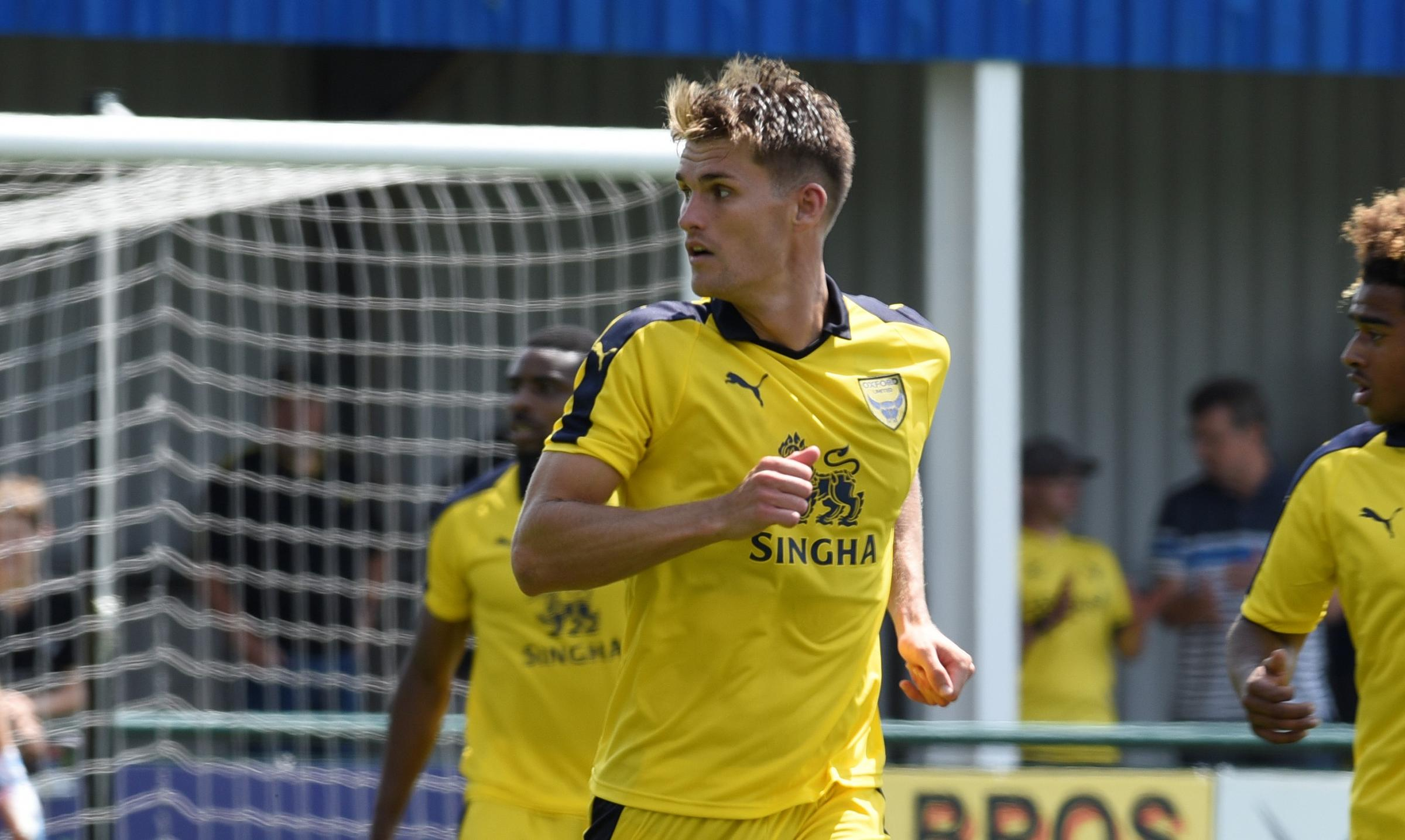 Charlie Raglan was released by Oxford United last week  Picture: David Fleming