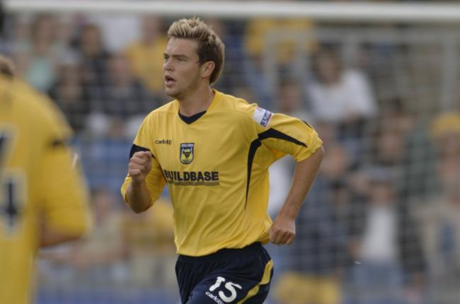 John Dempster playing for Oxford United in 2006  Picture: George Reszeter