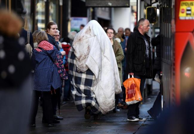Homelessness in Oxford has dropped slightly, the city council has said