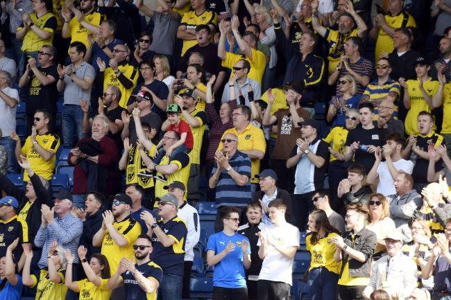Oxford United had 4,500 season ticket holders last season  Picture: David Fleming