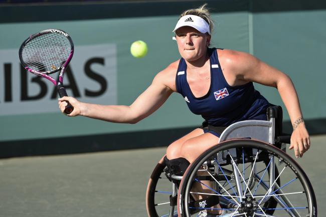 Jordanne Whiley has won four titles in 2019 and climbed to World No 10Picture: LTA