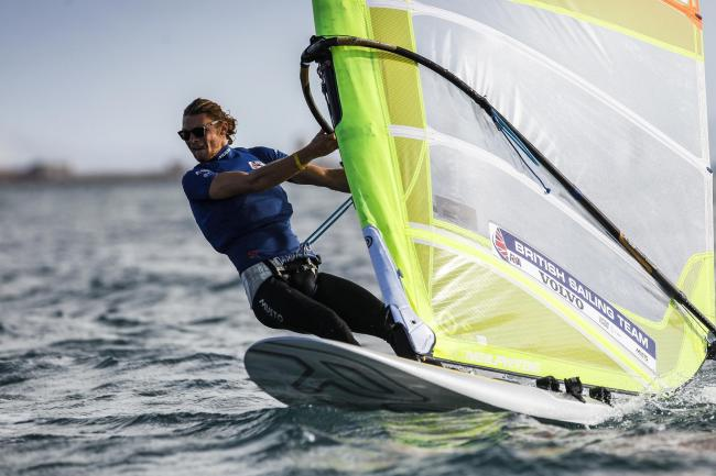 Tom Squires,RSX  Picture: British Sailing Team